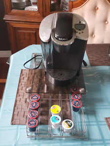 Keurig and stand