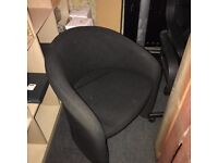 Office furniture up for grabs.