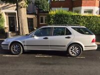 Saab - low mileage - one owner only - full service history - just passed MOT