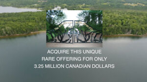 Eastern Canada's No. 1 Piece of Water Frontage Accepting Bitcoin