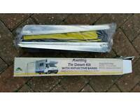 CARAVAN AWNING TIE DOWN KIT NEW