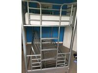 Metal frame bunk bed chair