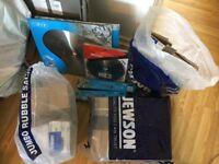 Building Tools / Equiptment / Materials - Drill, Blades etc,.