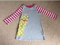 Mini Boden cat dress age 4-5
