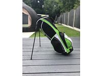 Woodworm golf clubs with bag and headcovers