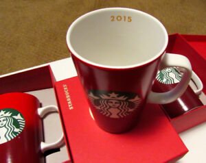 3 Starbucks Mugs - New with Tags and Boxed