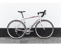 Specialized allez sport road bike 56 cm carbon fork 56 cm ready to go