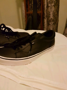 Men's leather Vans