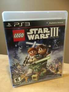 Star Wars lll - Lego - PS3 Video Game