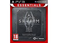Skyrim V and Haze for ps3