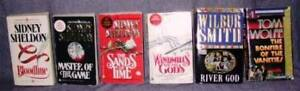 Sidney Sheldon, Wilbur Smith, Tom Wolfe (USED)