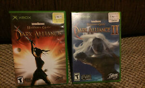 Dark alliance I and II, Xbox, dungeons and dragons