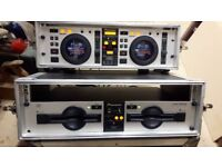 Pioneer CMX 500 DJ's controller 2cd's in airbox