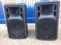 "QTX 12"" Powered Speakers 1000 Watts"