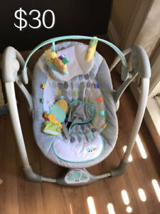 Taggies baby swing- excellent condition!