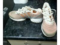 addidas trainers white and orange