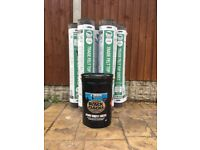 Heavy Duty Roof Felt & Black Jack Bitumen Rooffelt Adhesive