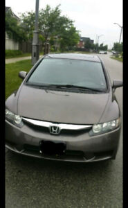 2010 Honda Civic LX Sunroof with  - Low mileage 86K