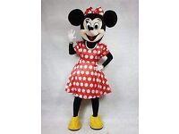 Minnie Mouse costume/mascot