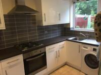 2 years old Whirlpool Kitchen Units with Oven, Hob & Extractor Fan and Franke Sink for sale.