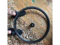 Phil wood hub track wheelset
