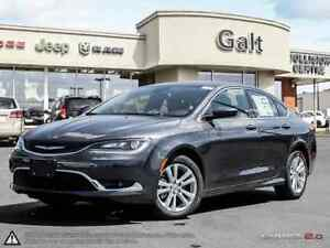 2016 Chrysler 200 LIMITED | DEMO | ONLY $145 BI-WEEKLY | 8.4 TOU