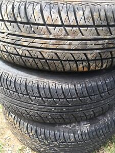 Motomaster tires, R 185 70 14. Excellent condition.