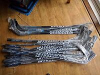 Salming Mpro Professional Ice Hockey Sticks JobLot Wholesale 24pcs high quality