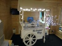 For hire a beautiful vintage cart can be used for weddings and other special occasions