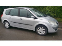 57reg GRAND scenic 7 seater, 6 speed gear box .very clean