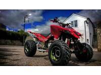 Quadzilla xlc 500, road legal quad. Not yamaha raptor, suzuki ltz, Honda trx