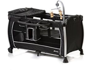 Large Black HAUCK starlight playpen