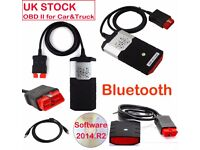 Delphi ds150e diagnostic scanner VCI software 2014.2 WoW available on request