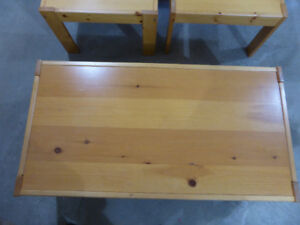 Coffee & End Tables - Solid Pine