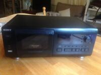 Sony CD Player / Changer 50+1 CDs CDP-CX55