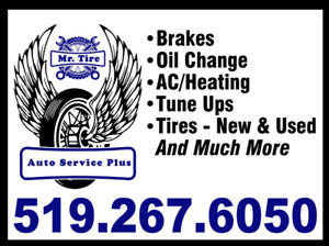 Oil Change / Tune Up / A/C&HEATING / Exhaust / Tires New&USED