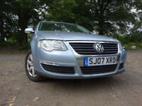 07 VOLKSWAGEN PASSAT 2.0 DIESEL ESTATE,MOT JUNE 018,1 OWNER FROM NEW,2 KEYS,FULL SERVICE HISTORY