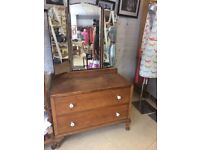Oak Dresser with mirrors