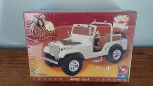 AMT/Erlt Dukes of Hazzard Daisy's Jeep CJ7