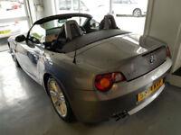 2004 BMW Z4 3.0i auto SE Sport Roadster *70k Miles * S/History * Cat d bargain*