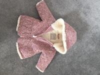 Gorgeous Next Baby Girl Coat 3-6 months