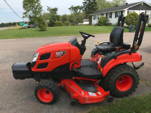 "Used Kioti CS2410 Sub Compact with 60"" Mid Mower 375hrs"