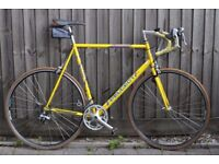 Peugeot Performance Road bike. XL 62cm Light weight Columbus Aelle steel frame,14 Shimano RSX gears