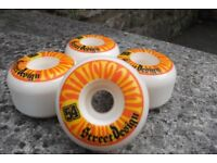 Street design 54 skateboard wheels