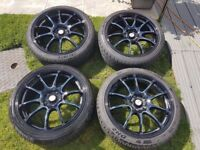 Alloy Wheels 18 inch off Ford Focus ST Excellent condition, bought last month only done 100 miles
