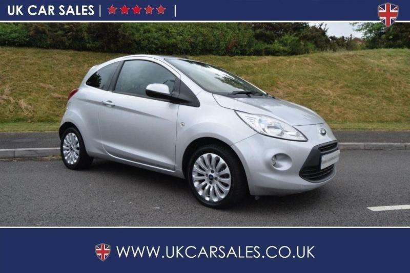 2012 Ford KA 1.3 TDCi Zetec 3dr (start/stop)