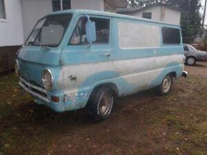 1965 Fargo A-100 Van Scooby Style