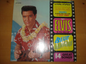 ELVIS BLUE HAWAII VINYL ALBUM