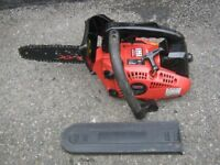 One Handed Petrol Topping Chainsaw