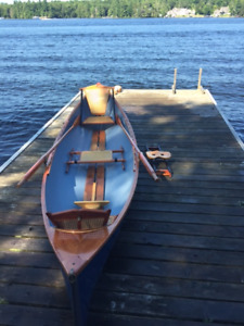Row Boat - Adirondack Guide Boat - Good condition